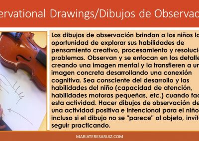 Observational Drawings