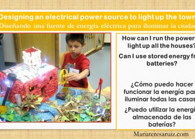 Designing an electric power source