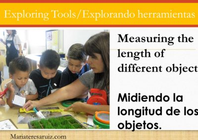 Exploring tools to measure the length of objects
