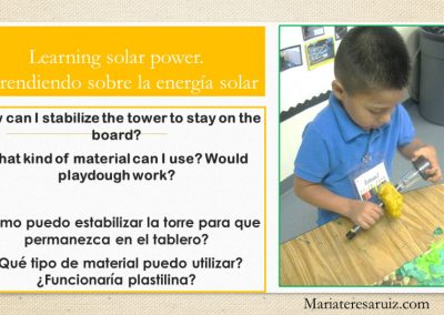 Learning about solar power